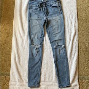 Abercrombie & Fitch Jeans - Light wash jeggings